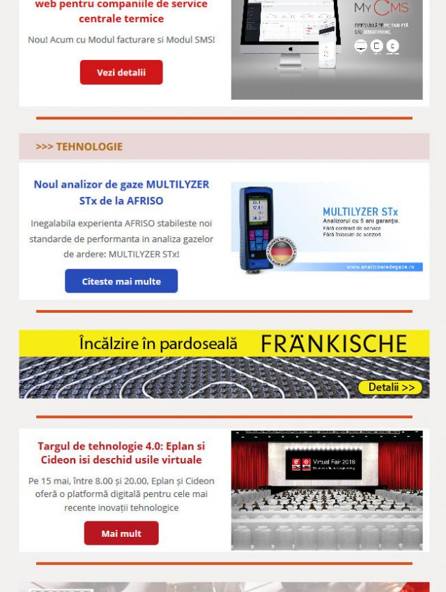 Newsletter InstalNews nr. 131, Mai 2018
