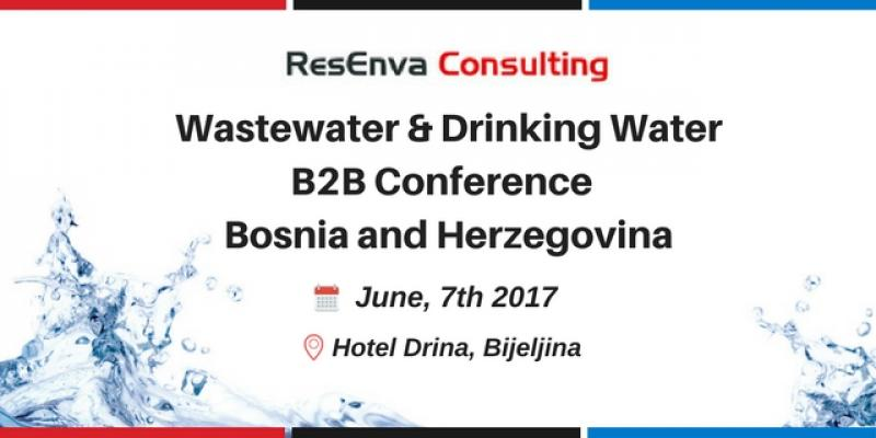 Wastewater and Drinking Water - B2B Conference BiH Bosnia and Herzegovina