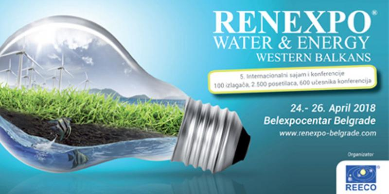 RENEXPO WATER & ENERGY Western Balkans 2018