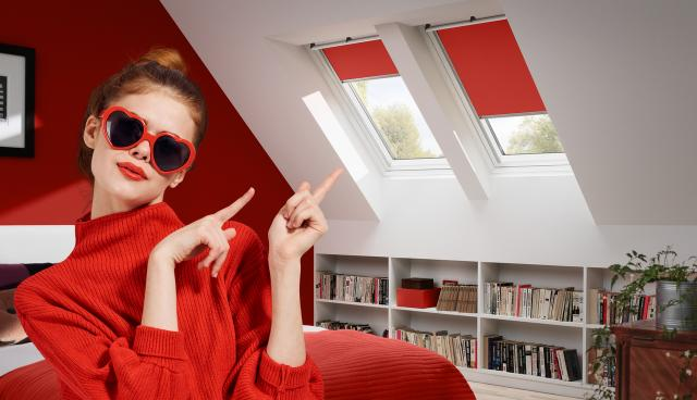"VELUX ""Colour by You"", rulouri opace"