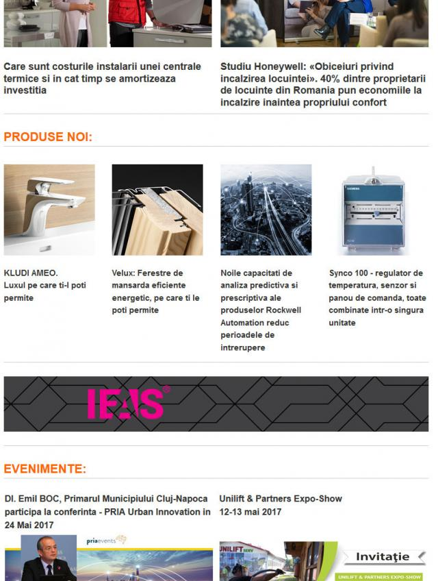 Newsletter InstalNews nr. 108, Mai