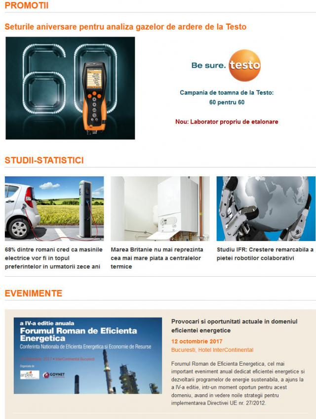 Newsletter InstalNews nr. 118, Octombrie