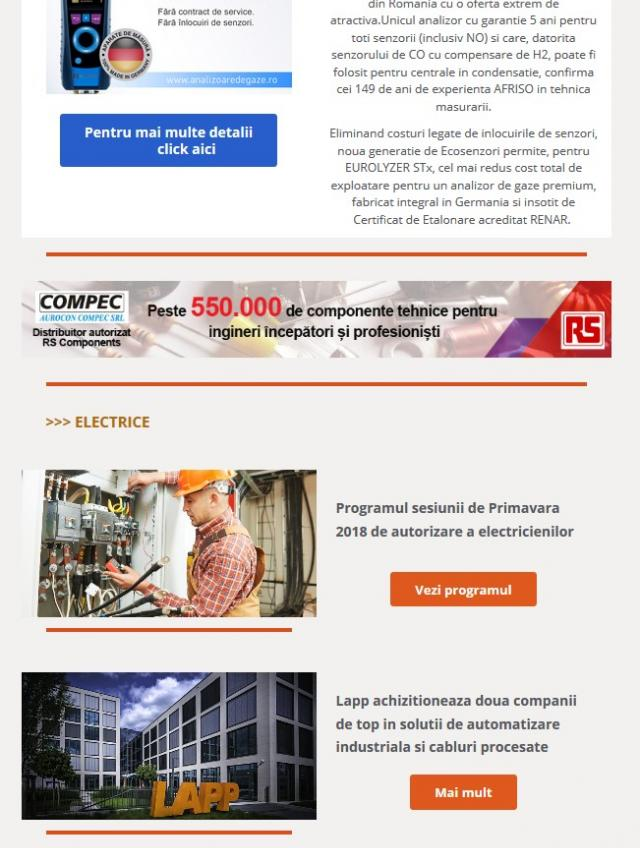 Newsletter InstalNews nr. 124, Ianuarie 2018