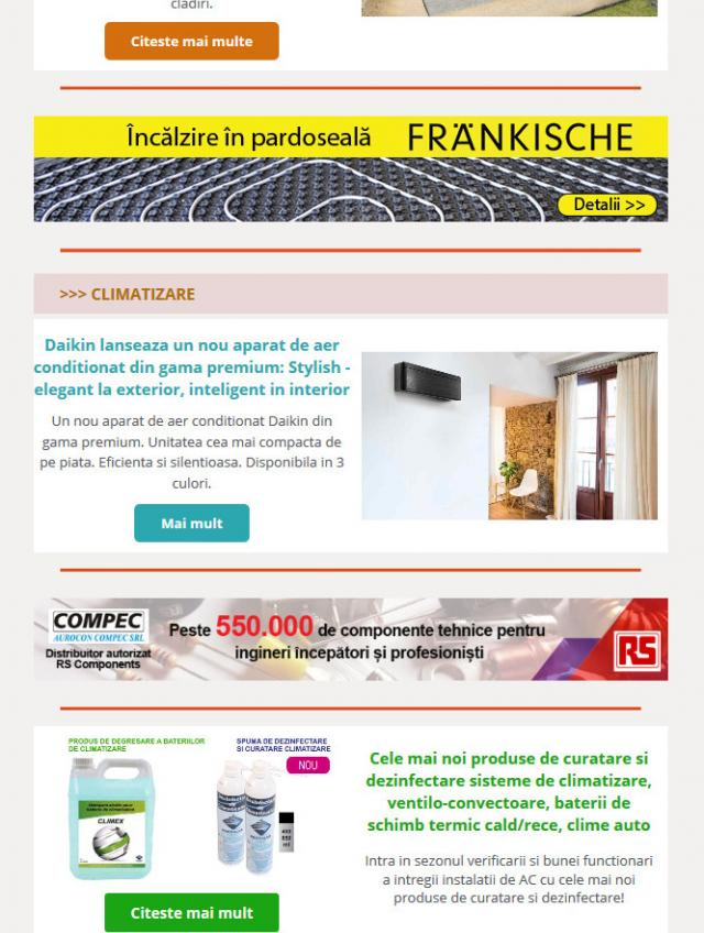 Newsletter InstalNews nr. 130, Aprilie 2018