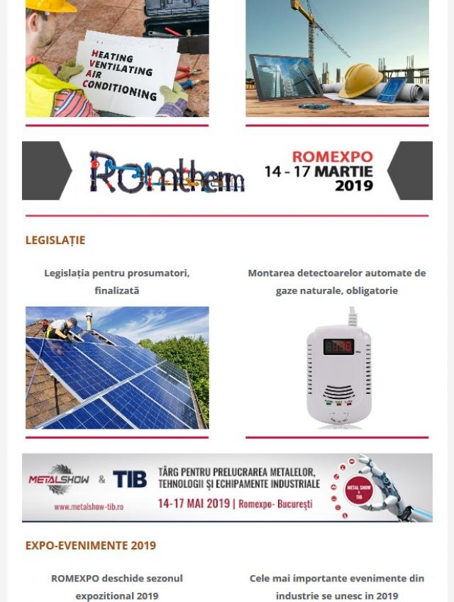 Newsletter InstalNews nr. 146, Ianuarie 2019