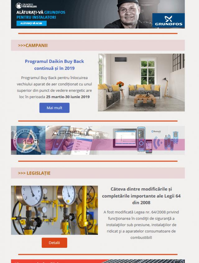 Newsletter InstalNews nr. 152, Aprilie 2019