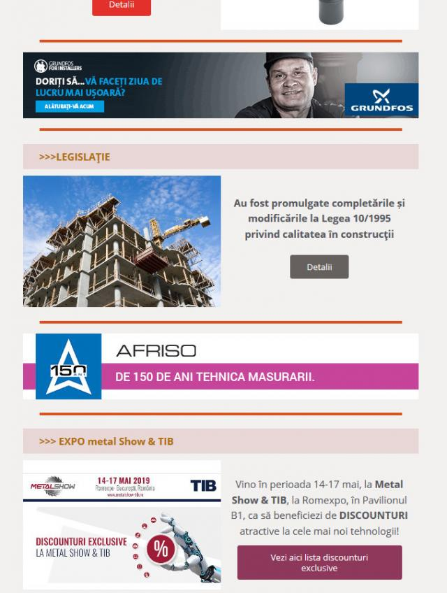 Newsletter InstalNews nr. 154, Mai 2019